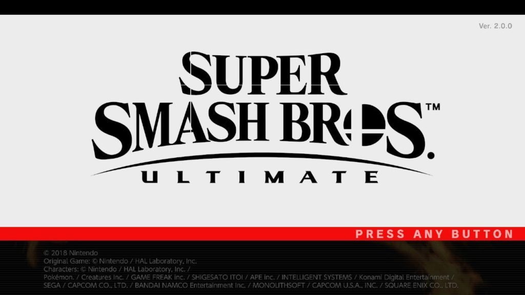 Super Smash Bros Ultimate Logo