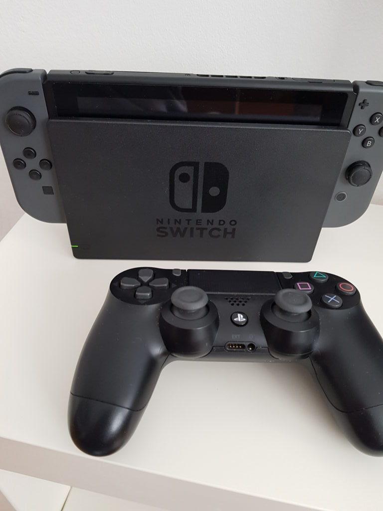 Dualshock 4 z Nintendo Switch