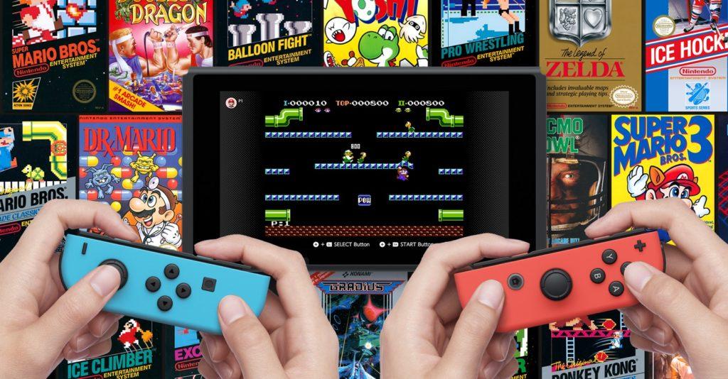 Gry z NES w Nintendo Online