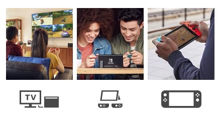 Nintendo Switch Tryby