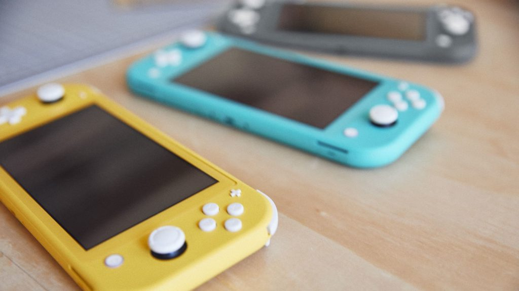 Nintendo Switch Lite Kolory
