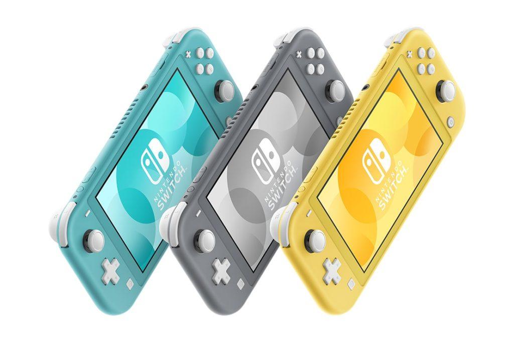 Nintendo Switch Lite wszystkie kolory