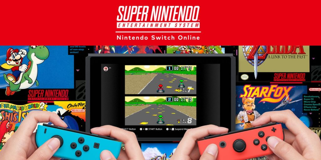 SNES na Nintendo Switch