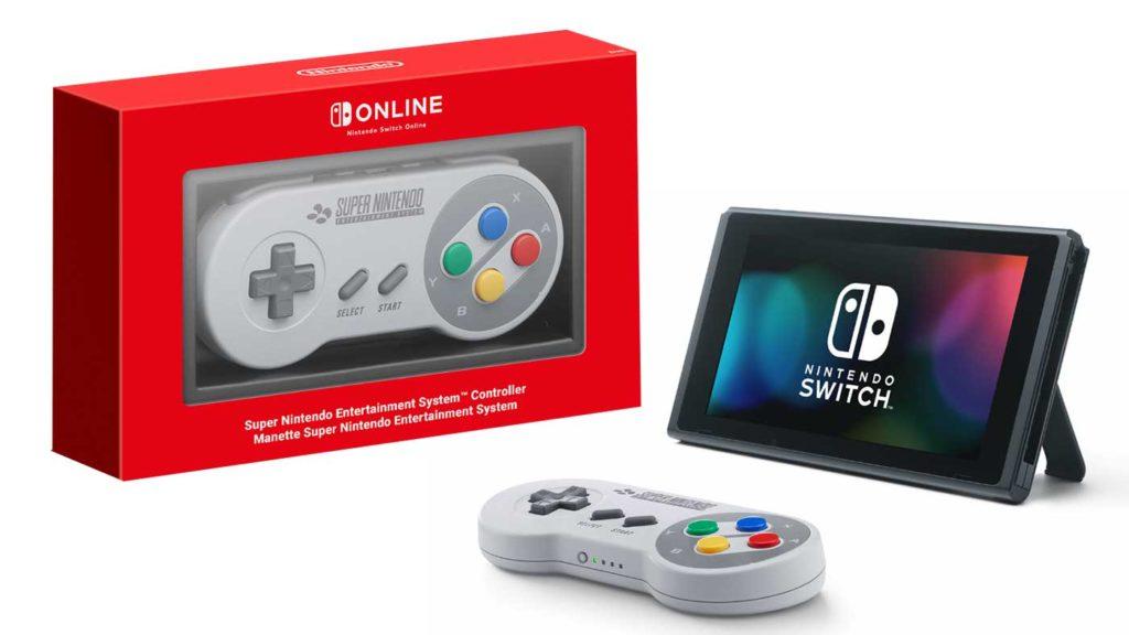 Gamepad SNES - Nintendo Switch