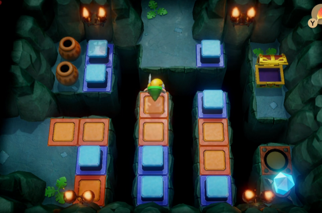 Solucja Link's Awakening Bottle Grotto