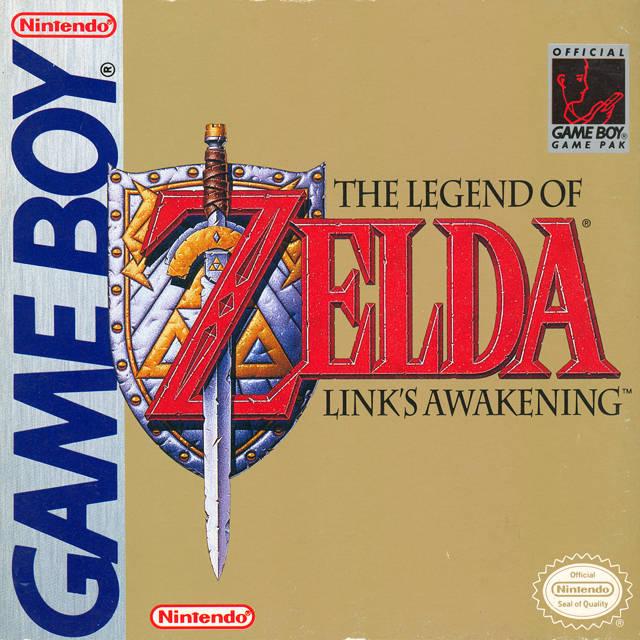 Link's Awakening pudełko GameBoy