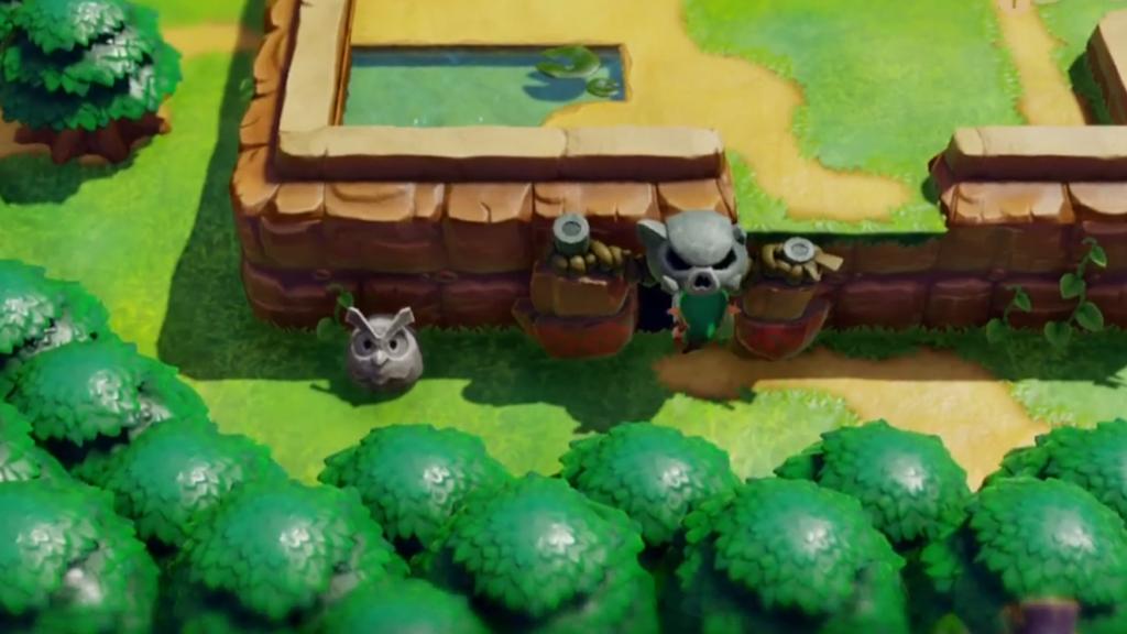 Link's Awakening Solucja - jaskinia moblinów