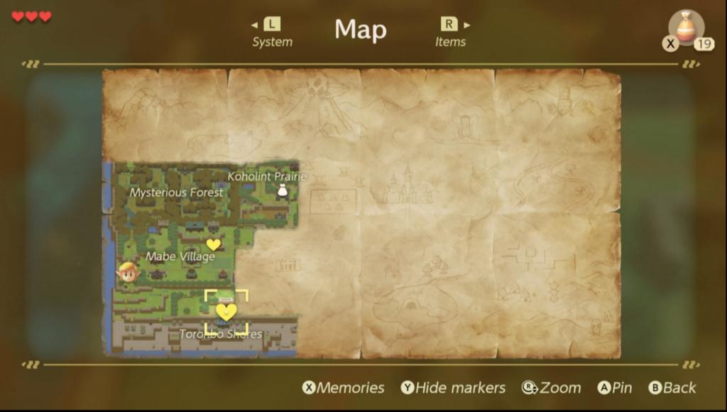 Link's Awakening Tail Cave