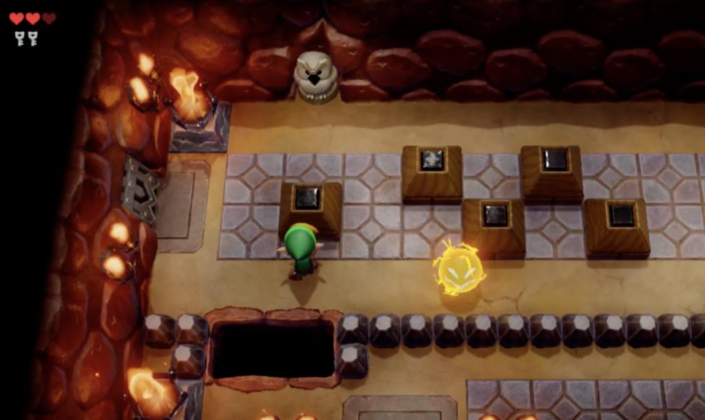 Link's Awakening solucja Tail Cave