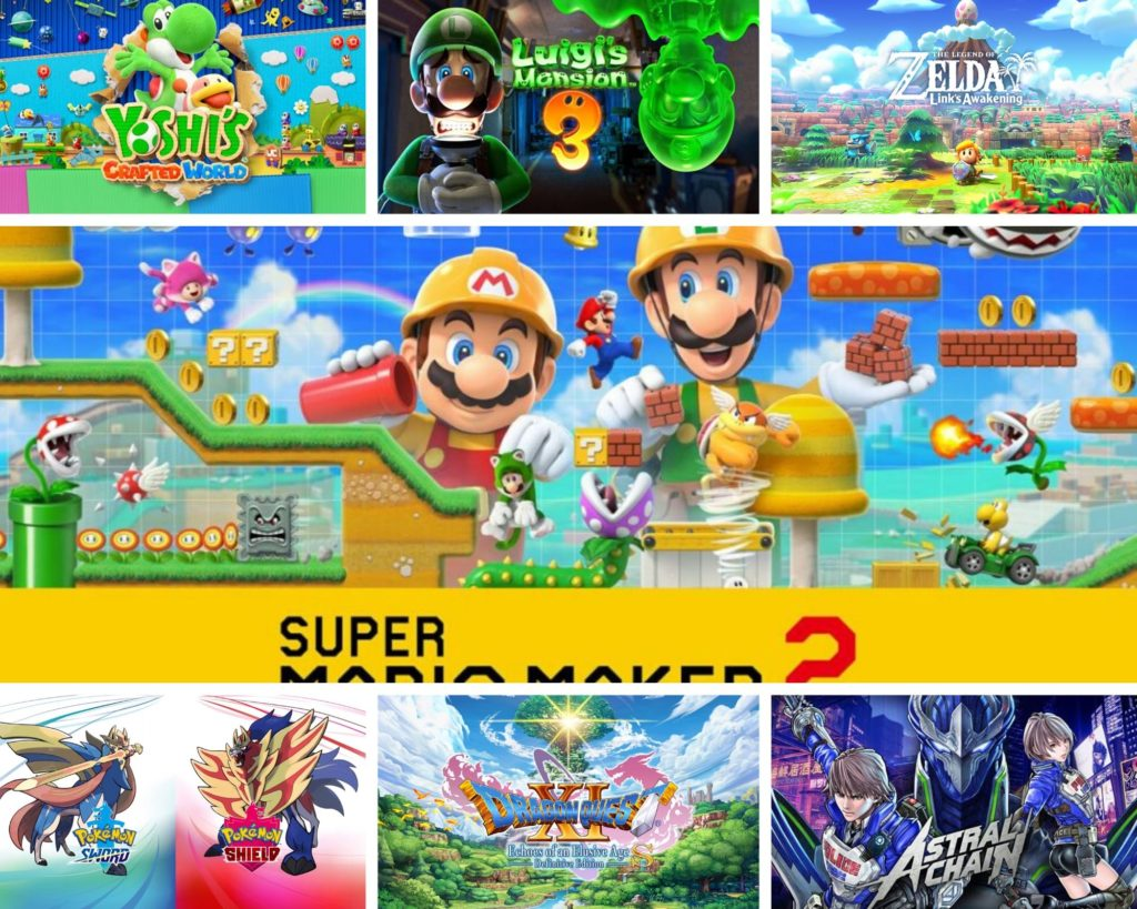 Najlepsze gry Nintendo Switch
