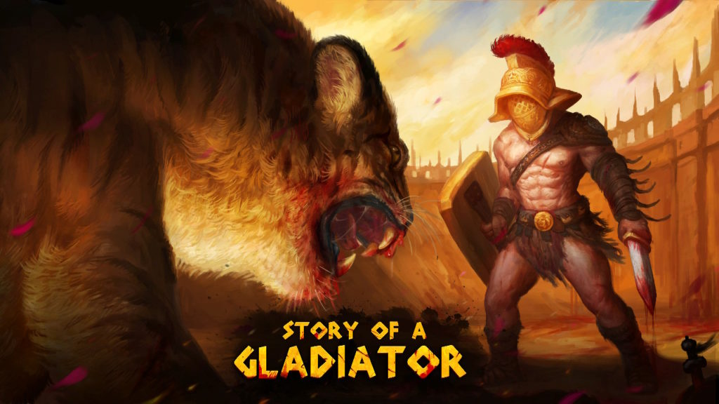 Story of a Gladiator Cover