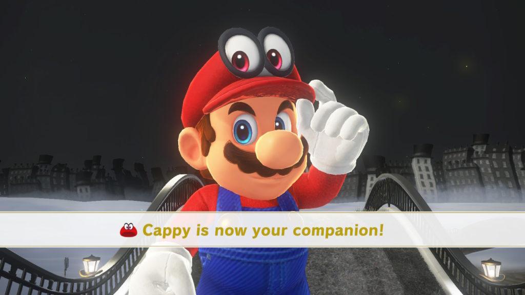 Super Mario Odyssey - Cappy