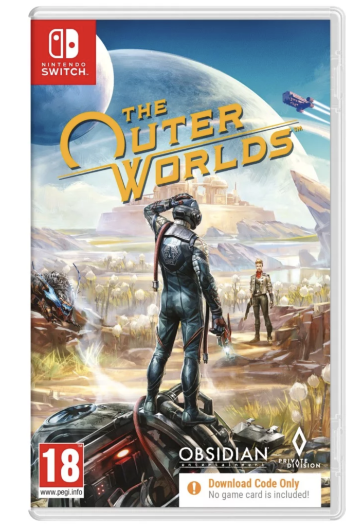 The Outer Worlds Pudełko