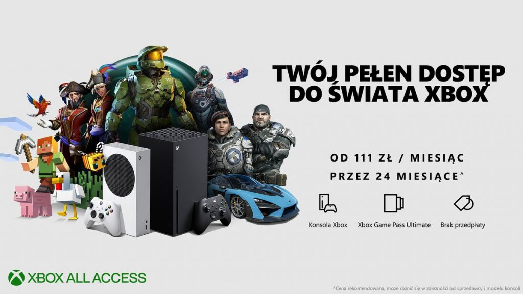 Xbox All Access Polska