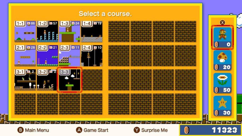 Super Mario Bros 35 Mapy