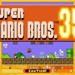 Super Mario Bros 35 Cover