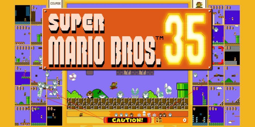 Super Mario Bros 35 Cover