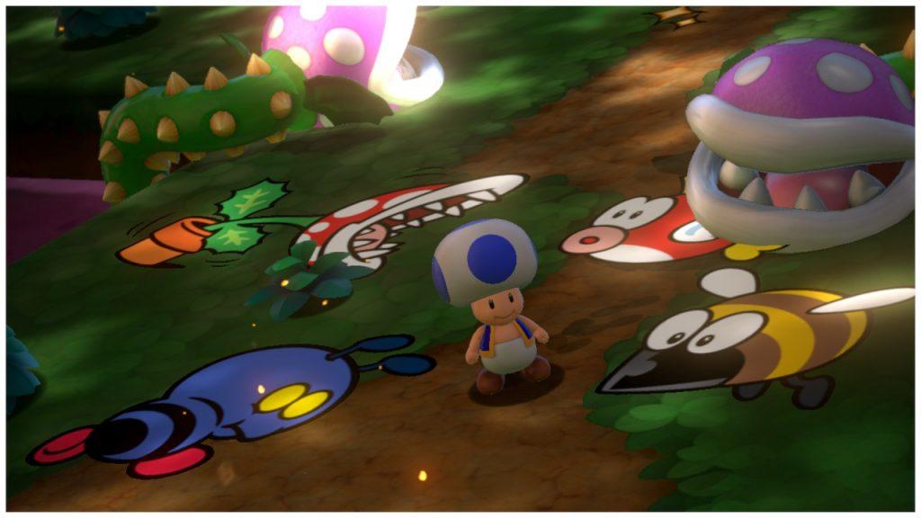 Super Mario 3D World Toad
