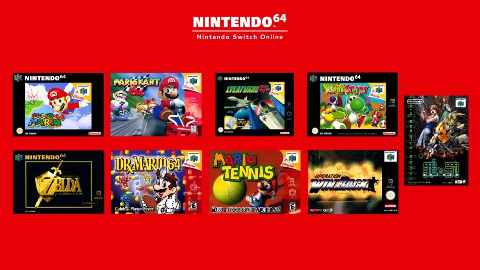 Gry z Nintendo 64 na Nintendo Switch
